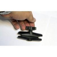 Prolech A-04 Universal Socket Arm Шаровый зажим типа Ram Mount 6 см. (короткий)